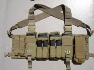 Ammunition Carrying Chest Rig 02