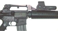 ar-15 fixed carry handle forward optic mount
