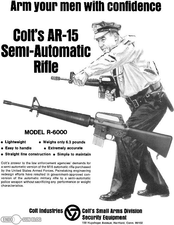 Colt-AR-15-Rifle-Advertisement-Law-Enforcement