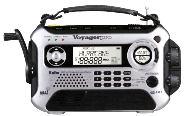 Voyager Emergency Radio