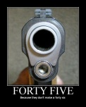 .45, Because They Don't Make a .46