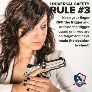 Firearms Safety Rule 3