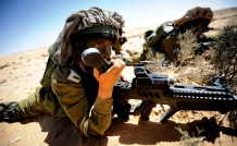 IDF Soldier with phone