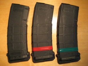 Tape Marked Magazines