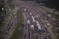 Houston Traffic Hurrican Rita