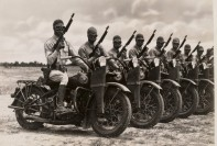 WW2 Motorcycle Gang
