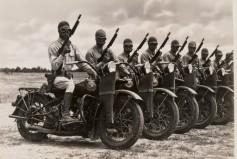 WW2 Motorcycle Gang