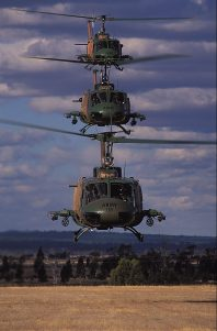 UH1 Huey Helicopters