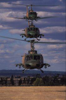UH1 Huey Helicopters