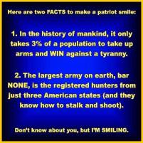 two facts that make a patriot smile