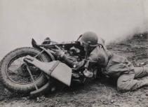 soldier motorcycle tommy gun scabbard