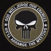 god will judge our enemies punisher