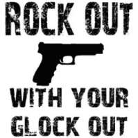 rock out with your glock out meme