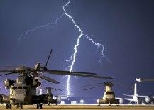 ch53 ch47 lightning strike