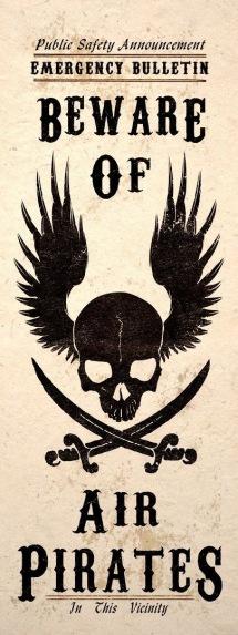 Beware of Air Pirates