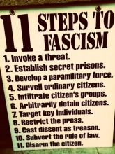 Eleven Steps To Facism