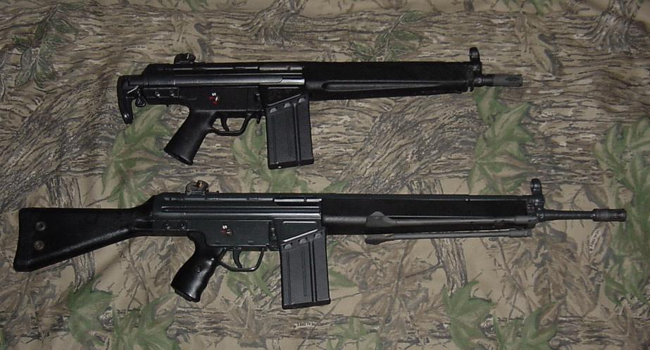 H&K 91 / PTR 91 / Cetme