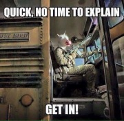 Get On The Bus Funny Meme