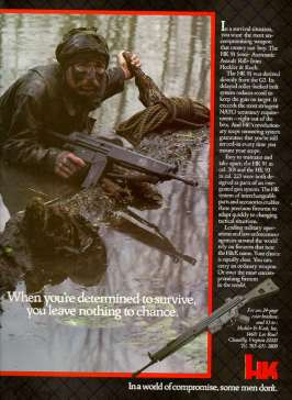 Heckler Koch Advertisement