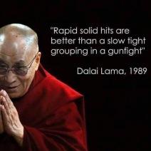 dalai lama gun quote