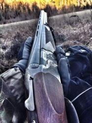 hunting shotgun
