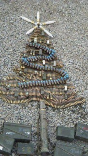 ammo christmas tree