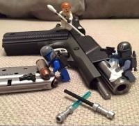 Legos Gun Cleaning