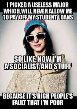 Socialist With A Useless Major