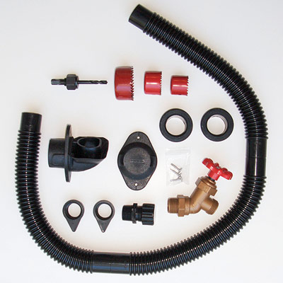 Rain Barrel Diverter Parts Kit