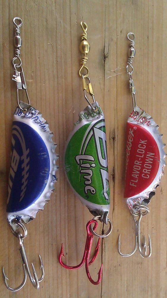 Bottle Top Fishing Lures