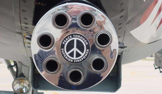 peace through superior fire power