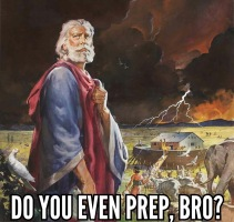 Noah do you even prep bro meme