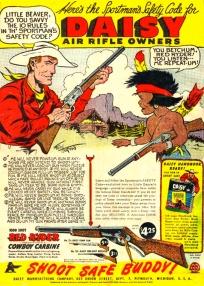 Daisy BB Gun Rifle Owners Cartoon