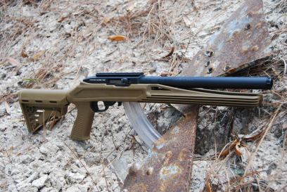 Ruger 10/22 Integral Suppressor Blackhawk Stock