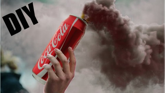 homemade smoke grenade