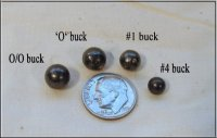 Different Size Buckshot