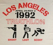 los angeles riots triathlon shoot loot scoot