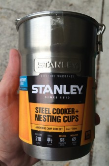 Stanley Steel Cooker plus Nesting Cups