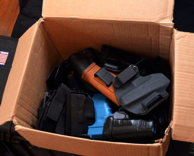 box of holsters