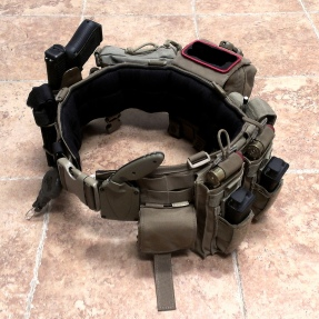 Battle Belt With Glock