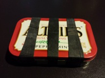 Altoids Survival Tin Ranger Bands