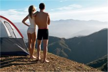 Jockey Camping Couple
