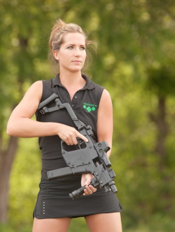 Girl With Kriss Vector