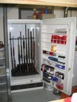 Hidden Guns Refrigerator