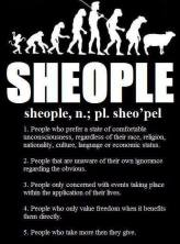 Definition of Sheople