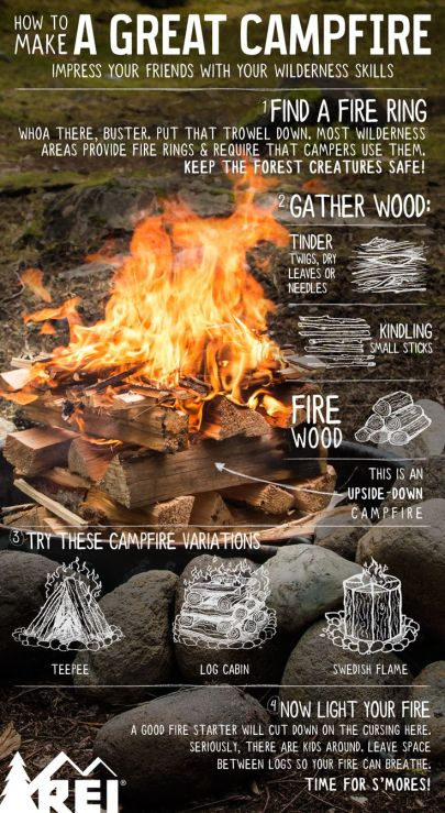 How To Build A Great Campfire