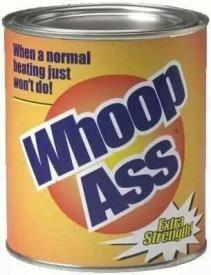 whoop ass