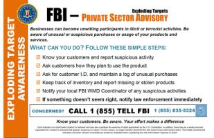 FBI Tannerite Warning