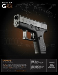 Glock 42 Subcompact