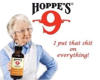 Hoppe's 9 i put that ship on everything